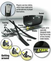 sled hockey equip
