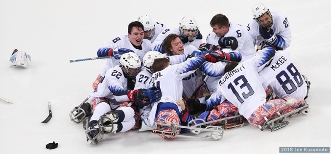 Sled Hockey Gold 2018